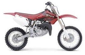 2005 Honda CR-85 motocross bike