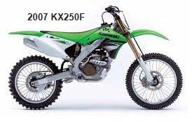 2007 Kawasaki KX 250F