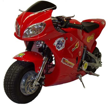 49cc pocket bikes
