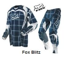 FOX Blitz Motocross Gear pants and jersey