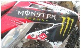 HONDA CRF450 2004 Motocross racing bike