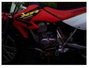 HONDA XR 100 2003 dirt bike