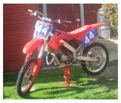Honda CR 125 motocross bike