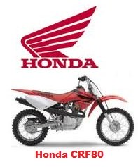 Honda CRF 80 motocross bike