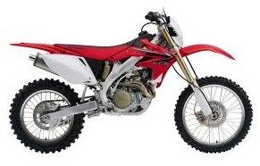 Honda CRF450x motocross motorbike