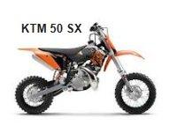 KTM 50 SX kids dirt bike