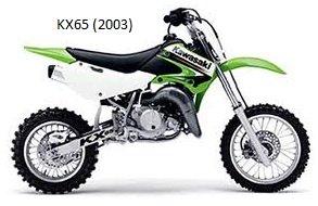 Kawasaki 65cc Dirt Bike KX 65