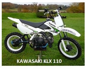Kawasaki KLX 110 pit bike