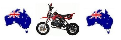 Mini dirt bikes from Australia for kids and adults