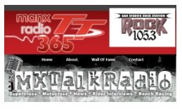 Motocross and dirt bike radio stations that could help