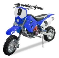 On the Go with the Db 801 mini motocross bike
