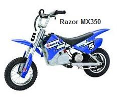 Razor MX-350 Electric Dirt Bike