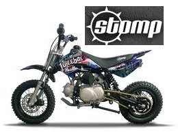 Stomp JuiceBox3 110cc pit bike