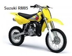 Suzuki RM 85 dirt bike for sale