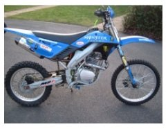 Test ride any dirt bike you buy