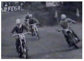 a 1960s motocross scrambles race