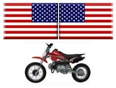 american usa mini dirt bikes