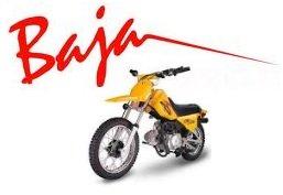 baja motocross mini dirt bike