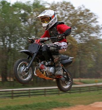 bike crash dirt