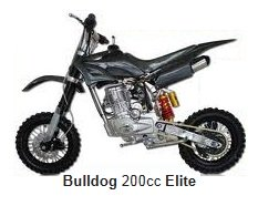 bulldog elite pit bike 200cc 4 stroke engine