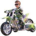 a dirt bike kid on a kawasaki super shock