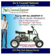 do it yourself minibike plans build an atv