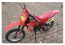 english british mini motocross bike