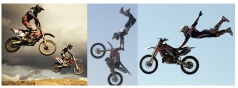 freestyle posters of fmx riders getting big air