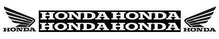 honda motocross offroad logos