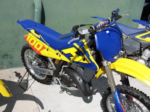 husqvarna motocross 2004