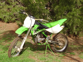 kawasaki dirt bike part