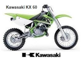 kawasaki kx60 motocross bike for sale