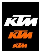 ktm dirtbikes and motocross logos