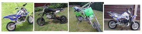 mini dirt bike pictures