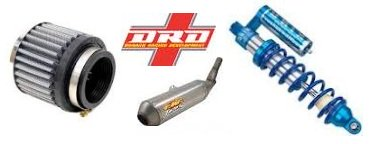 motocross filter Rhino King Front Shock DRD 4-Stroke Exhaust System