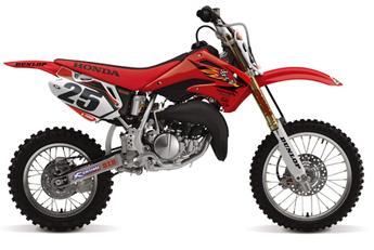 motocross honda motorbikes