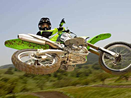 motocross stunts on your track