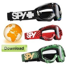 spy goggles pitbike goggle earth download
