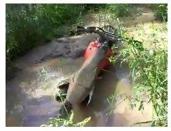 stuck dirtbike in the mud