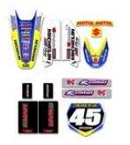 suzuki motocross sticker sets
