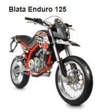 the Blata Enduro 125