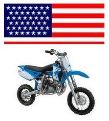 usa Minicross X3R Polini dirtbike
