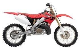 used Honda CR250 2005 model dirtbike