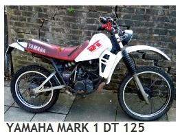 YAMAHA mk1 DT 125cc dirt bike