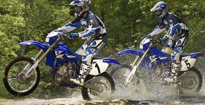 Yamaha dirt bikes parts