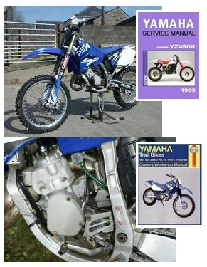 yamaha owners manual yamaha dirtbikes