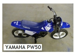 YAMAHA PW50 mini dirt bike