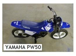 YAMAHA PW50 mini dirt bike